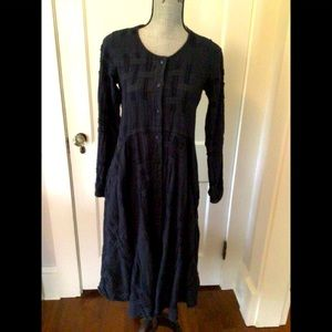 Grizas linen dress with pockets